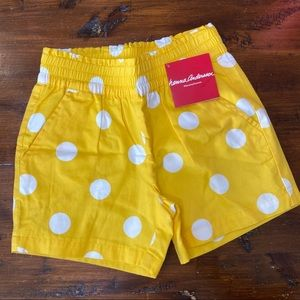 Hanna Andersson NWT Girls Lined Shorts 120/US 6-7